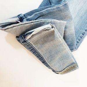 GAP Jeans - Gap Low Rise Cropped Stretch Jeans Size 8 Blue